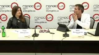 Онлайн-конференция певицы Тани Степановой на ГолосUA