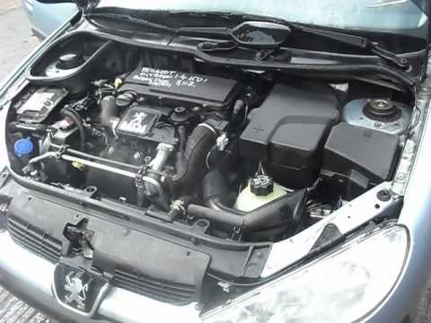 peugeot 206 1.4 hdi complete engine 8hx - youtube
