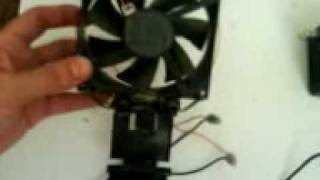 How To Build A Aquarium Cooling Fan.3gp
