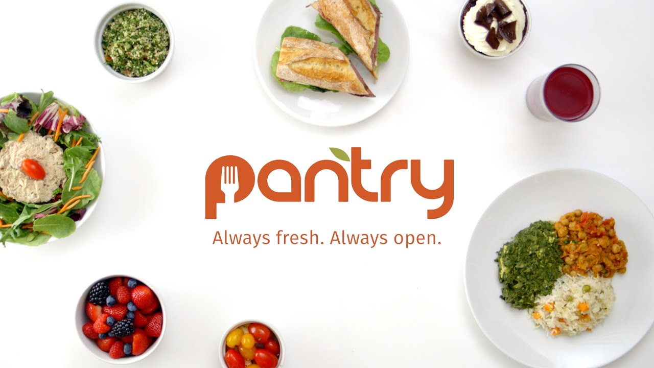 Pantry - Always fresh. Always open.