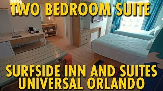 2 Bedroom Suite At Universal S Endless Summer Resort Surfside Inn And Suites Universal Orlando Youtube