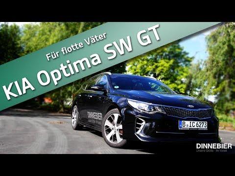 Ein Schneller Kombi - Der KIA Optima SW GT