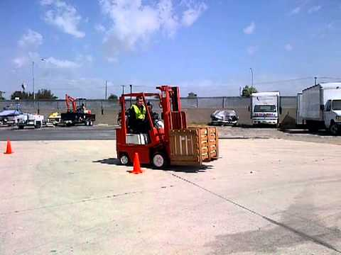 Free forklift training video