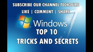 Windows 7 Tricks And Secret Codes | Windows Hacks | Tech2Fire