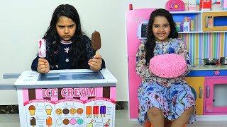 شفا و توأمتها يتنافسون على البيع الحلويات !!