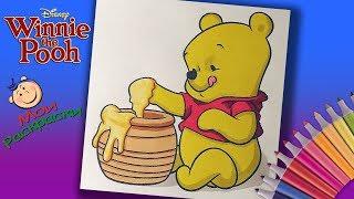 Раскраски Винни Пух и его друзья  Раскраска Маленький Винни Пух  Мои раскраски