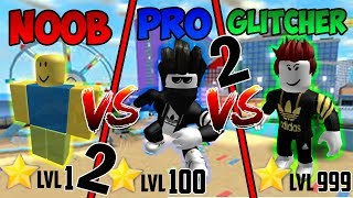Noob vs Pro vs Glitcher in Mad City Part 2 + 800 Robux Verlosung | Roblox