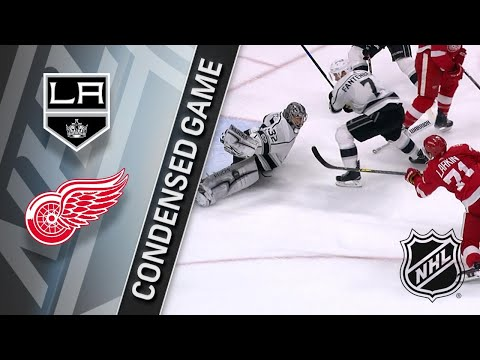 11/28/17 Condensed Game: Kings @ Red Wings