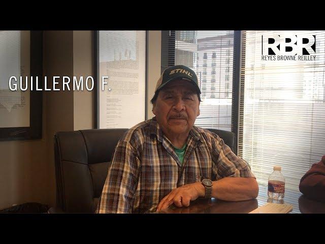 Guillermo F - Recomendación de Cliente para Abogado de Accidente Angel Reyes