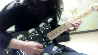 Queensryche - Eyes of a stranger (guitar solo cover)