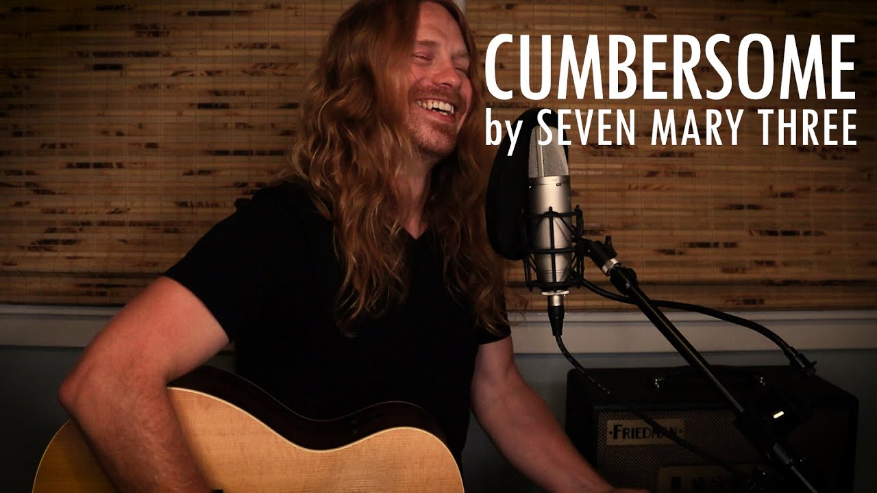 """""""Cumbersome"""" by Seven Mary Three - Adam Pearce (Acoustic Cover)"""