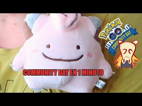 COMMUNITY DAY EN UN MINUTO POKEMON GO thumbnail