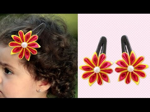 How to make flower accessories for hair — photo 2