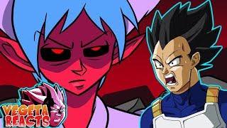 Vegeta Reacts To DEMON BULMA, Dragon Ball Parody