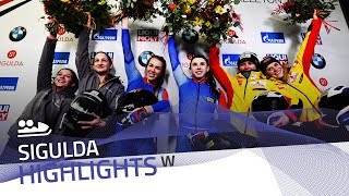 Sergeeva made history in Sigulda | IBSF Official
