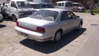 Видео-тест автомобиля Nissan Bluebird (EU13-357933 1994г)