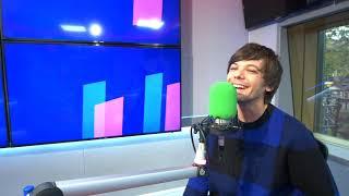 "Louis Tomlinson ""I heard Niall's song on the Radio!"" | Hits Radio"