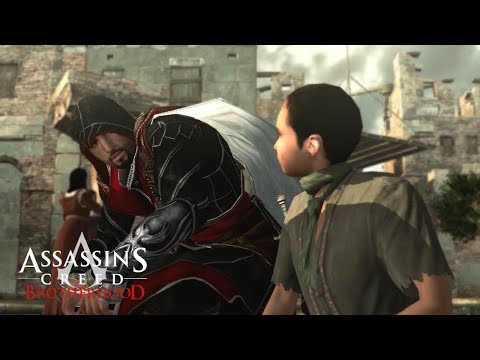 All Bosses - Assassin's Creed Brotherhood : Boss Fights (100% Synch) & Ending