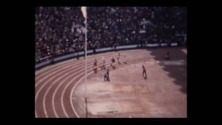 HELSINKI 1952 800m Men (MAL WHITFIELD) (Amateur Footage)