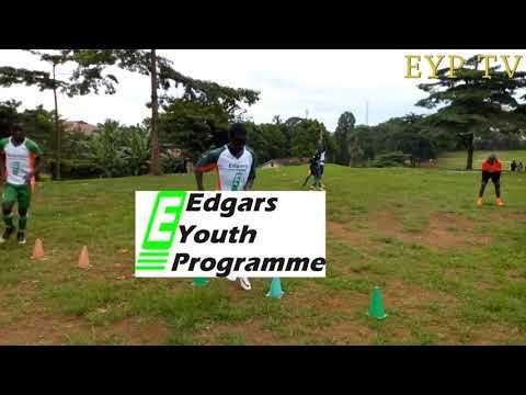 EDGARS YOUTH PROGRAMME U17 TRAINING AT OLD KAMPALA.