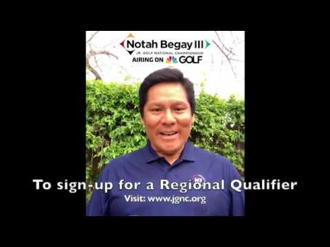 Notah Begay junior Golf National Championship Responds to COVID-19