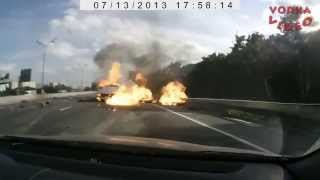 Аварии зафиксированные видеорегистраторами - 2
