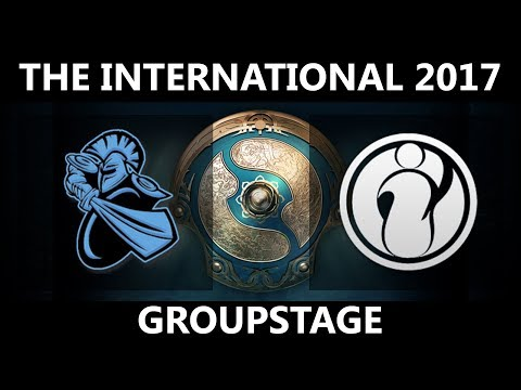 NewBee vs IG GAME 1, The International 2017, IG vs NewBee