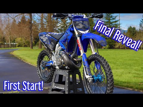 Finishing My Epic YZ250 Two Stroke Project!