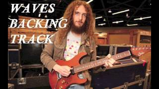 Waves - Guthrie Govan BACKING TRACK [HD]