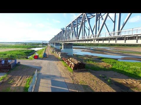 A joint partnership to build the China-Russia Tongjiang Rail Bridge