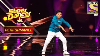 "Saksham's Break-dance Act On ""Apsara Aali"" | Super Dancer Chapter 3"