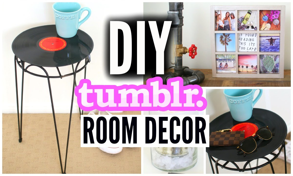 Diy tumblr inspired room decor affordable room for Diy room decorations youtube