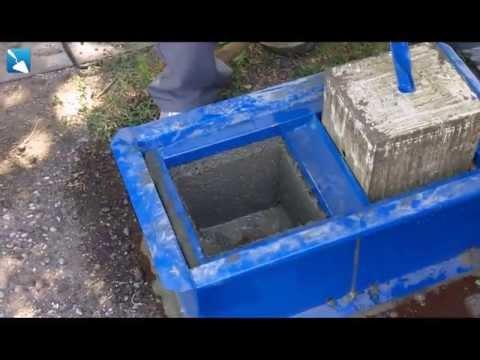 Керамзитобетонные блоки своими руками - YouTube