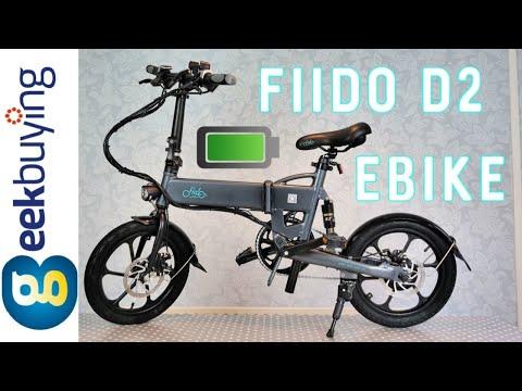 FIIDO D2 Folding Electric Moped City Bike