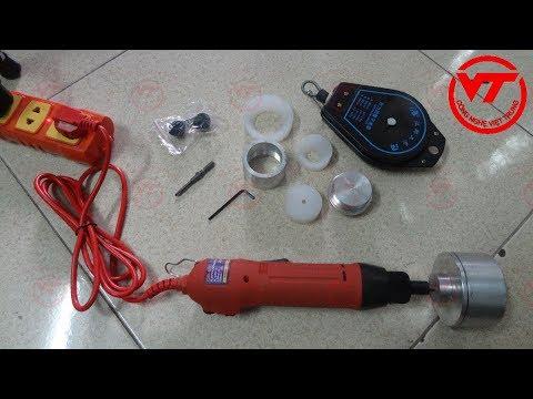 Hưỡng dẫn nắp đặt và sử dụng máy xoáy nắp chai cầm tay   Công Ty TNHH Việt Trung