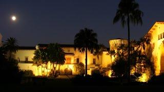 Bruce Goldish - Sunken Garden. Live guitar at the beautiful Santa Barbara Courthouse.