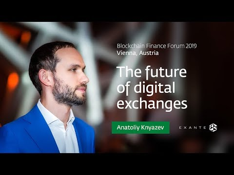 EXANTE At Blockchain Finance Forum (BFF) 2019 In Vienna
