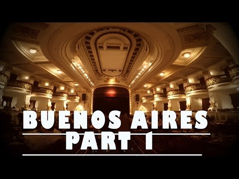 BUENOS AIRES VLOG PART 1