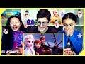 d-three KIDS React to FROZEN 2 Teaser Trailer   Trailer Reaction