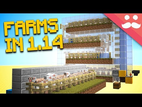 EXPERIMENTING With NEW FARMS! [NEW 1.14 SNAPSHOT!]