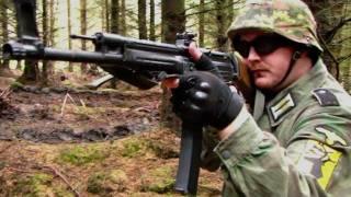 WW2 MP44 L85, PPsh-41 Airsoft War Games Scotland HD