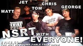 """Airsoft """"not So Round Table"""" Everyone Drops By! Ep. 31 - Evike Tv"""
