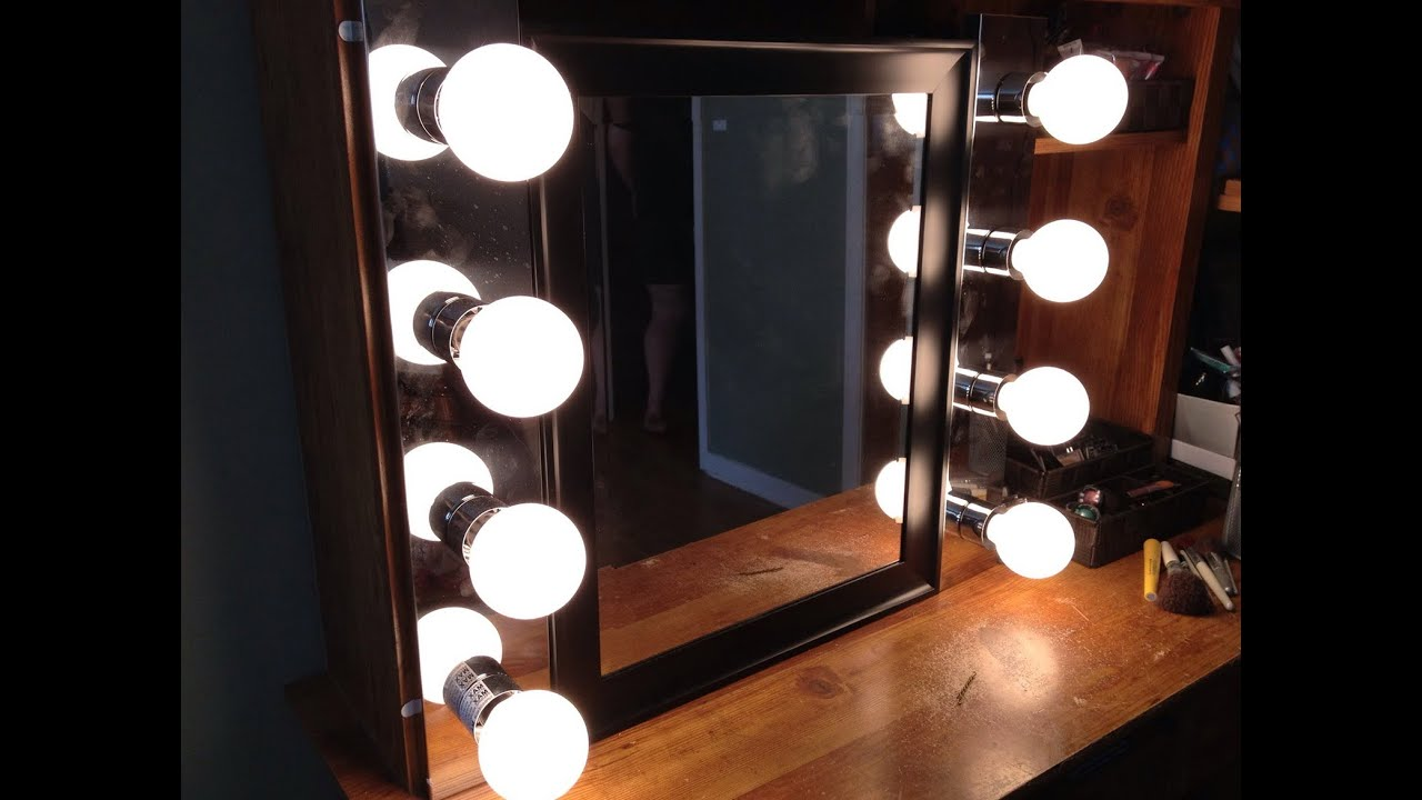 Bathroom Lights Ireland awesome mirror with lights around it - youtube