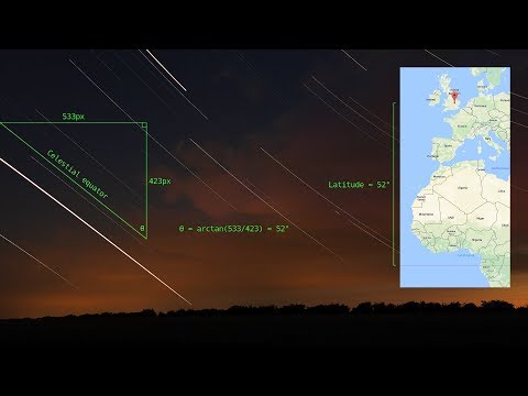 How to use the celestial equator to determine your latitude