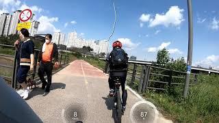 로드 자전거 입문 도전 | 첫 라이딩 | 삼천리 블랙캣…