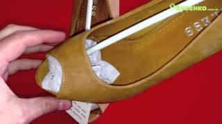 2521-1 Коричневые туфли на каблуке. Видео-обзор от Обувенко.com.ua