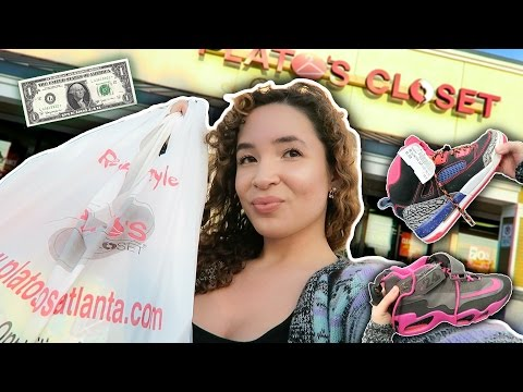 $1 DAYS SALE AT PLATOS CLOSET THIS WEEKEND !!! TRIP TO THE THRIFT !!!