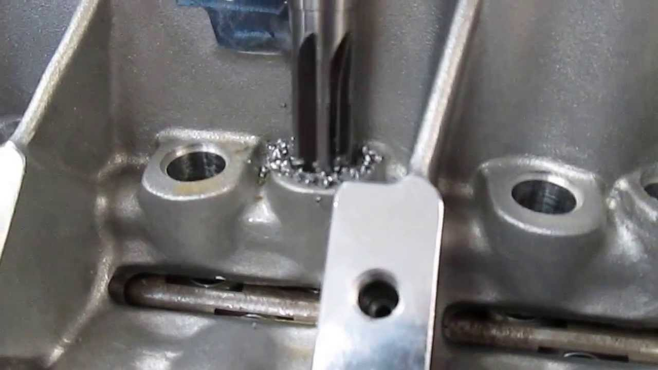 Big Valley Ford >> Brodix BB Chevy Block Lifter Bore Machining - YouTube