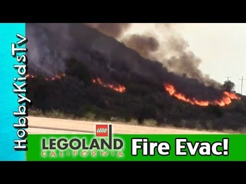 Our Legoland Fire Evacuation! Carlsbad, California News