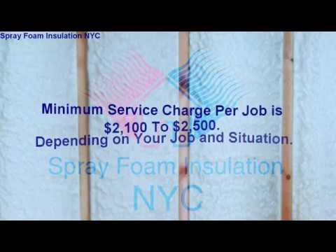 2018 So how much does spray foam insulation cost?